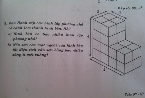 Nhiều lỗi trong sách rèn kỹ năng toán tiểu học
