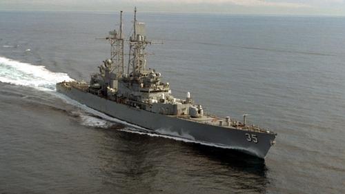 Tàu chiến Mỹ vào Biển Đen