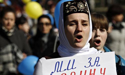 Người thiểu số rời Crimea