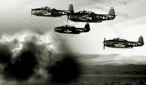 Các máy bay tương tự với nhóm phi cơ Chuyến bay 19 mất tích năm 1945. Ảnh:bermudaattractions