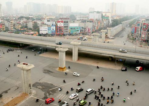 Dự án đường sắt Cát Linh - Hà Đông đội giá hơn 300 triệu USD