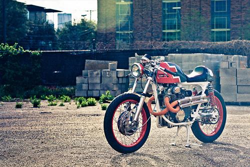 Hình Arnh Honda CB350 - cafe racer ngộ nghĩnh