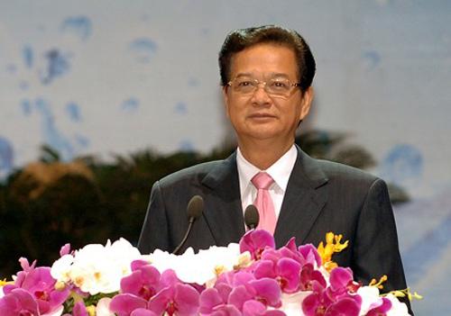Thủ tướng Nguyễn Tấn Dũng công bố: