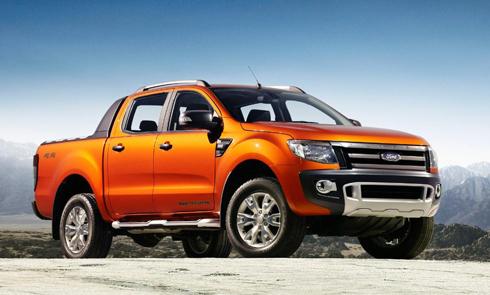 ford ranger 3 2012 1400747095 Ford Ranger Wildtrak Witrack 3.2l 4x4 AT giá 838 triệu đồng