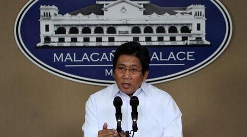 Bộ trưởng Truyền thông Philippines Herminio Coloma Jr. phát biểu tại
