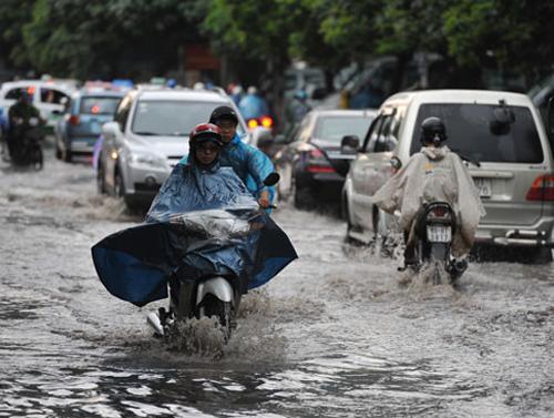 Hà Nội có nguy cơ ngập lụt