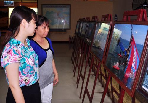 Trưng bày bằng chứng tố cáo Trung Quốc đâm chìm tàu cá
