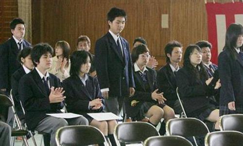 Kì thi tuyển sinh đại học ở Nhật cũng vô cùng cam go và căng thẳng. Ảnh: Cfp