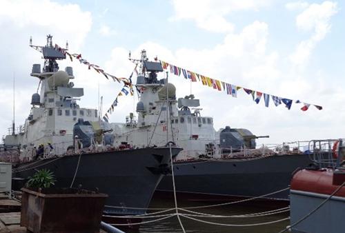 Hai tàu tên lửa đầu tiên do Việt Nam đóng