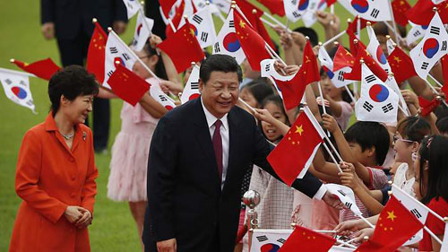 Trung Quốc khó dụ dỗ Hàn chống Nhật