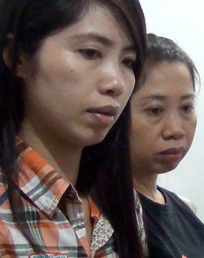 Hai chị em Trang bị bắt