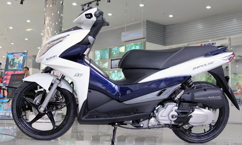 Suuzuki Impulse hướng tới khách hàng là nam giới tại thị trường Việt Nam.