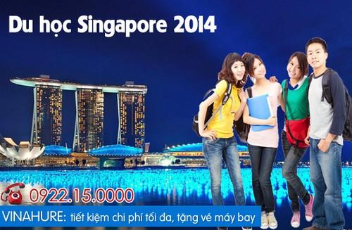 Vinahure hợp tác cùng 5 học viện, đại học danh tiếng tại Singapore và đưa ra chương trình học bổng hấp dẫn cho sinh viên Việt Nam.