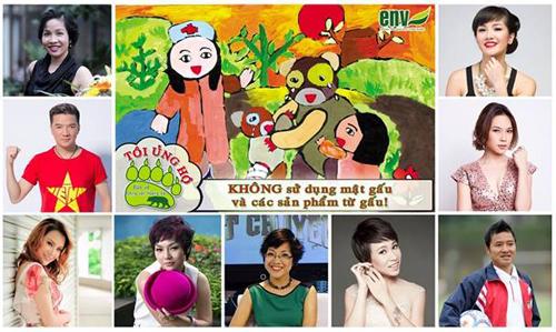 Ca sĩ Hồng Nhung kêu gọi cộng đồng bảo vệ gấu