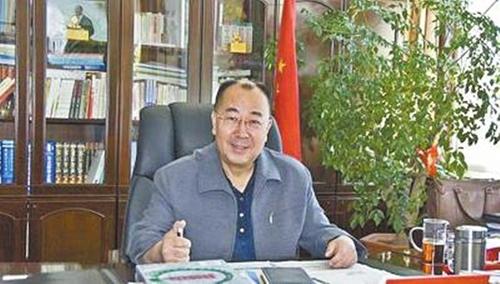 Wu Zhizhong, quan chức Nội Mông vừa bị bắt giữ với cáo buộc tham nhũng. Ảnh: Shanghaiist