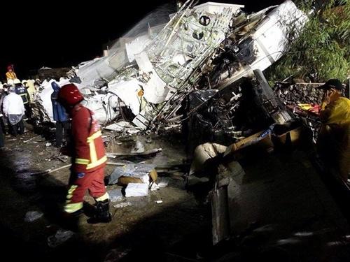 Trung Quốc chia buồn với Đài Loan vụ máy bay rơi
