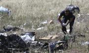 Thu thập bằng chứng ở hiện trường MH17