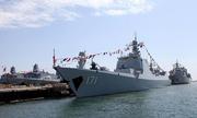 Hạm đội Trung Quốc cập cảng hải quân Mỹ