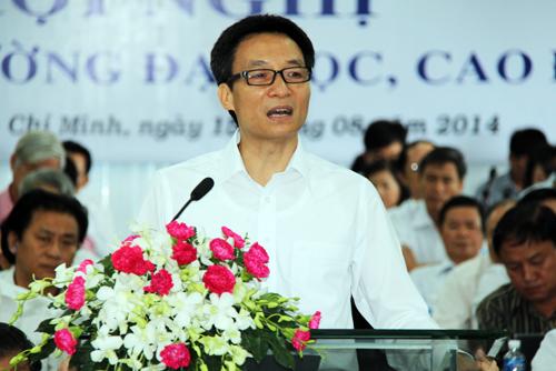 Phó thủ tướng thay mặt người dân chất vấn các trường ĐH