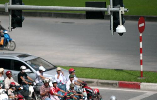 Đề xuất lắp camera để xử phạt vi phạm giao thông đã được thông qua