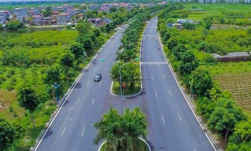 Khánh thành hơn 4 km đường liên tỉnh Hà Nội - Hưng Yên