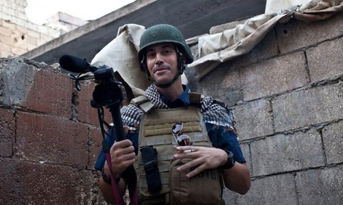 James Foley has been missing since he was seized in Syria in 2012
