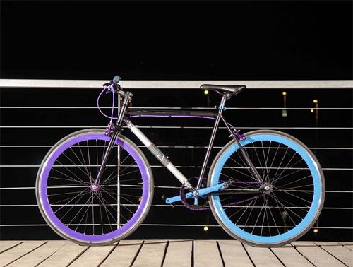 Xe đạp chống trộm dùng khung làm khóa