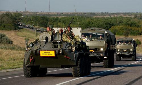 Ukraine cáo buộc quân đội Nga vượt biên giới
