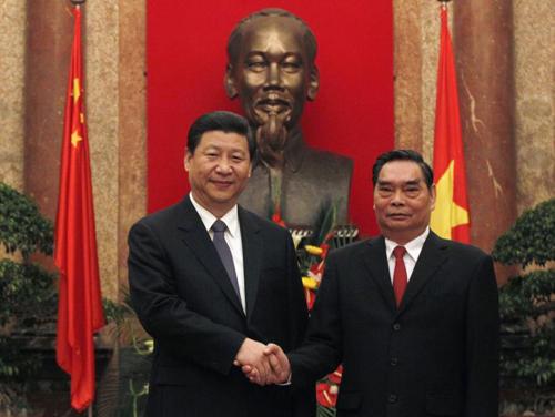 Việt - Trung nhất trí không làm phức tạp tình hình ở Biển Đông