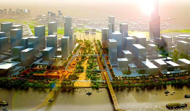 Thiết kế quảng trường lớn nhất Việt Nam
