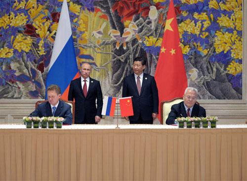 Nga - Trung sắp khởi công đường ống khí đốt xuyên biên giới