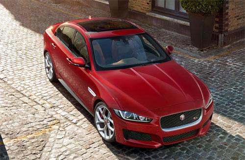 Jaguar XE Sport 2015 phong cach the thao manh me