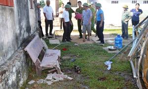Bồn nước trường tiểu học đổ, 2 học sinh tử vong