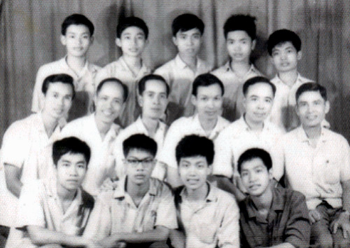 Bảng vàng Olympic Toán học Việt Nam
