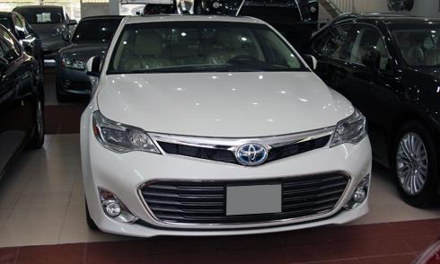 Toyota Avalon Hybrid 2014 xuất hiện ở Sài Gòn