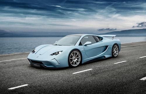 Vencer Sarthe - siêu xe lạ giá gần 350.000 USD