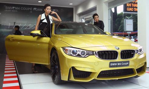 BMW M4 Coupe có giá gần 4 tỷ đồng