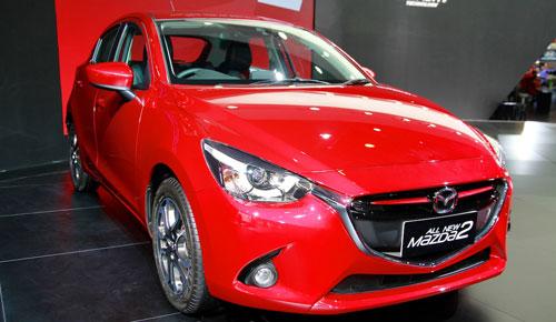 Mazda2 thế hệ mới giá từ 18.800 USD tại Indonesia