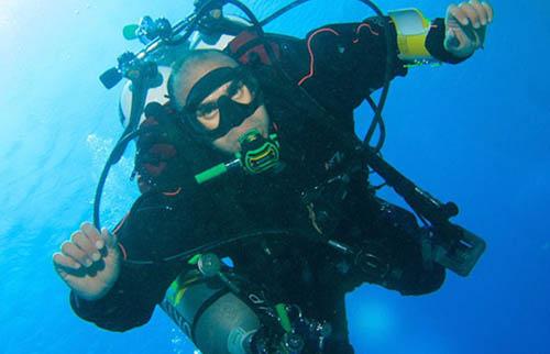 Người lặn sâu nhất thế giới