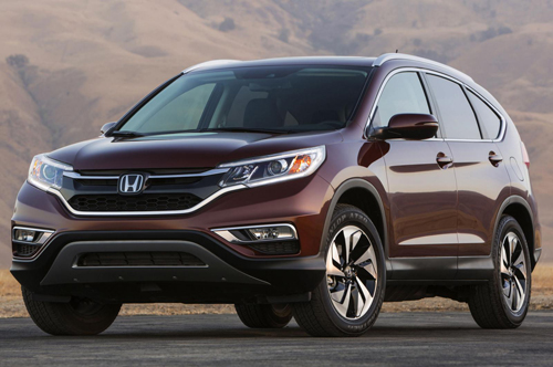 Honda CR-V phiên bản mới chính thức lộ diện