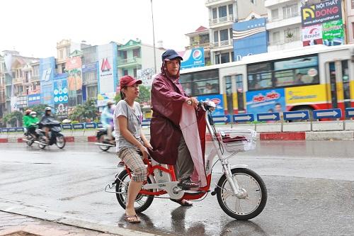 Bảo quản xe đạp điện trong mùa mưa bão