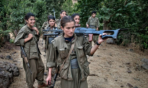 Phiến quân Hồi giáo sợ chết dưới tay phụ nữ