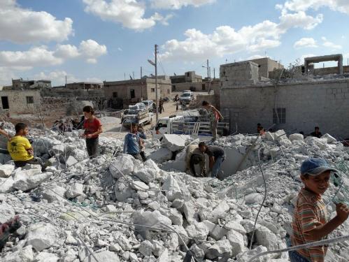 Đòn không kích của Mỹ trong mắt thường dân Syria