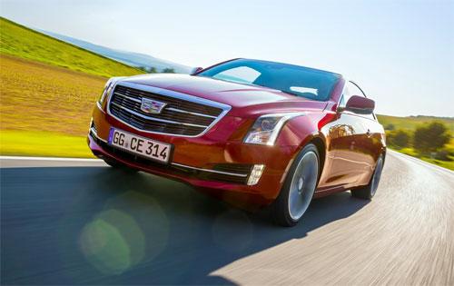 Cadillac ATS coupe đầu tiên đến châu Âu