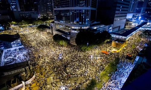 Trung Quốc nói biểu tình ở Hong Kong là phi pháp