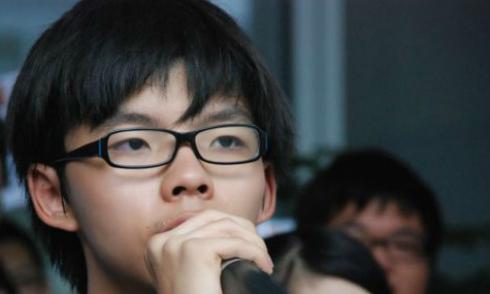 Chàng trai tuổi 17 dẫn đầu bãi khóa ở Hong Kong