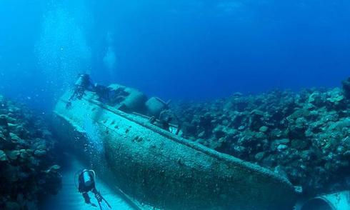 Nghĩa địa tàu đắm ở Tam giác quỷ