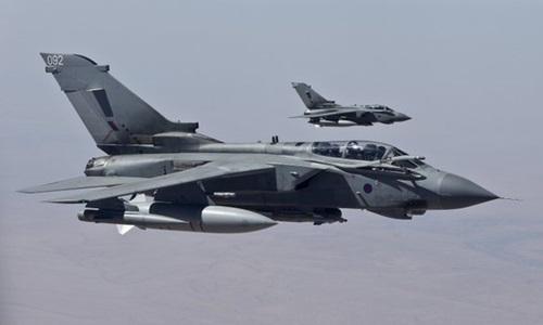 Máy bay Anh lần đầu ném bom Nhà nước Hồi giáo ở Iraq