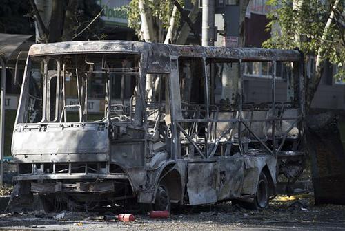 Chiến sự tái bùng phát ở Ukraine, phe ly khai cố chiếm sân bay Donetsk