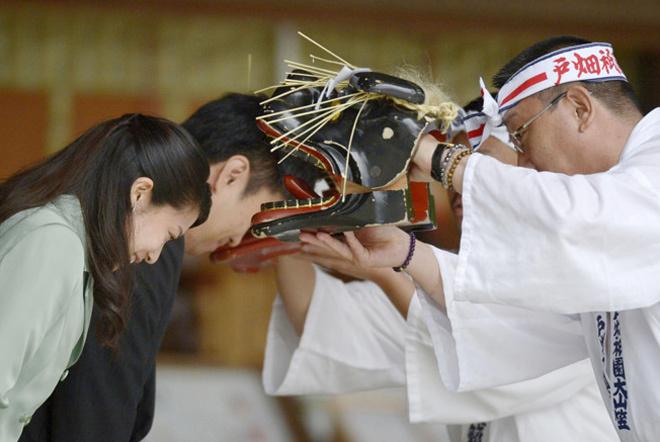 Đám cưới truyền thống của công chúa Nhật Bản